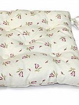 Декоративная подушка ТомДом Подушка на стул Элионора-П (розов.)