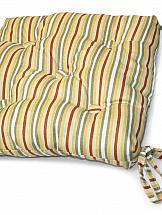 Декоративная подушка ТомДом Подушка на стул Гедра-П (желт.) декоративные подушки stickbutik декоративная подушка шоколадные цветы 25х45
