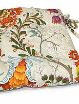 Подушка на стул ТомДом Подушка на стул Тарес-П (оранж.)