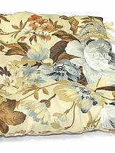 Подушка на стул ТомДом Подушка на стул Антлия-П (бежово-синий)