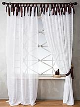 Комплект штор ТомДом Хенон (белый)