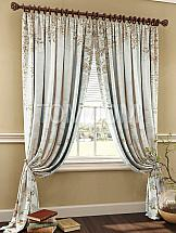 Комплект штор ТомДом Натрон (серо-коричневый) комплект штор томдом люсфильд серо коричневый