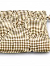 Декоративная подушка ТомДом Подушка на стул Дарси (корич.)
