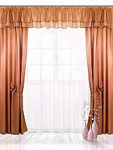 Комплект штор ТомДом Магди (корич.) комплект штор haft цвет стальной высота 250 см 28890 250