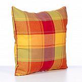 Декоративная подушка ТомДом Подушка Филби (красн-зелен.) декоративная подушка томдом подушка хиос беж