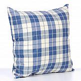 Декоративная подушка ТомДом Подушка Вилладж (синий) подушка эрмитаж файберсофт полиэстер 40 40