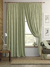 Комплект штор ТомДом Алески (зеленый) комплект штор томдом султан зеленый