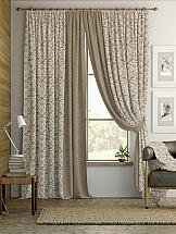 Комплект штор ТомДом Алески (бежево-коричневый) комплект штор томдом карас мятно коричневый