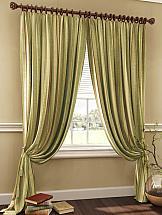 Комплект штор ТомДом Хизпар (террактово-зеленый) комплект штор томдом клэнтон зеленый