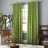 Комплект штор ТомДом Ибица (зеленый) комплект штор томдом этельн зеленый