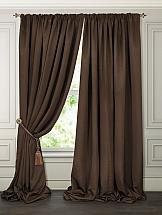 Комплект штор ТомДом Рагрит (коричневый) портьеры ранди коричневый