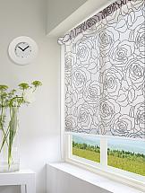 Рулонная штора ТомДом Мини (Мари коричневый) рулонная штора томдом мини мари коричневый