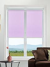 Рулонная штора ТомДом Мини ( розовый закат ) - ширина 48 см.