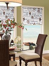 Рулонная штора ТомДом Мини (Алекс коричневый) - ширина 73 см. картина магазин гобеленов букет подсолнухи 39 73 см гобелен