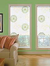 Рулонная штора ТомДом Мини (Малус зеленый) цена