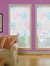 Рулонная штора ТомДом Мини (Малус розовый) - ширина 68 см. подушка ecotex бамбук комфорт наполнитель полиэстер 68 х 68 см