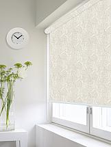 Рулонная штора ТомДом Мини (Монарда светло серый) - ширина 48 см. штора рулонная сити 60х175 см цвет серый