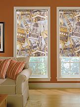 Рулонная штора ТомДом Мелисса (серый) штора рулонная сити 60х175 см цвет серый