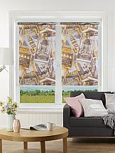 Рулонная штора ТомДом Мини (Мелисса серый) рулонная штора томдом мини мелисса коричневый