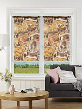 Рулонная штора ТомДом Мини (Мелисса коричневый) рулонная штора томдом мини мелисса коричневый