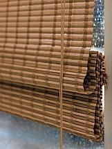 Римская штора ТомДом Бамбук (какао)