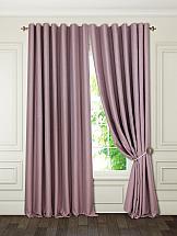 Комплект штор ТомДом Ниволи (розово-серый) жен комплект арт 16 0262 розово серый р 50