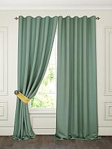 цена Комплект штор ТомДом Тиаго (зеленый)