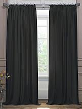 Комплект штор ТомДом Элести (черный) комплект штор томдом элести бежевый