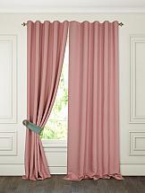 Комплект штор ТомДом Тиаго (розовый) комплект штор томдом арихэл розовый