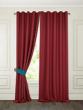 Фото - Комплект штор ТомДом Тиаго (бордо) шторы для комнаты реалтекс комплект штор 030 бордо