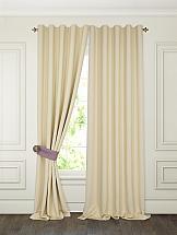 Комплект штор ТомДом Тиаго (сливочный) комплект штор томдом сарада золотой с подхватами