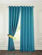 Комплект штор ТомДом Тиаго (морская волна) шторы для комнаты blackout комплект штор блэкаут софт b531 2 морская волна 200 270 см