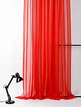 Тюль ТомДом Линдита (красный)