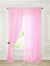 Тюль ТомДом Линдита (розовый)
