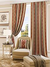 Фото - Комплект штор ТомДом Афогато (бордо) шторы для комнаты реалтекс комплект штор 030 бордо
