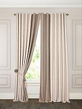 Фото - Комплект штор ТомДом Морель (бежево-коричневый) комплект штор томдом варгиз бежево коричневый