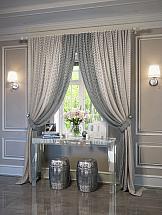 Комплект штор ТомДом Жуими (серо-коричневый) комплект штор томдом люсфильд серо коричневый