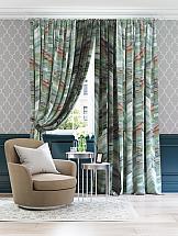Комплект штор ТомДом Семил (зеленый мрамор) комплект штор томдом султан зеленый