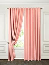 Комплект штор ТомДом Элести (розовый) комплект штор томдом элести бежевый