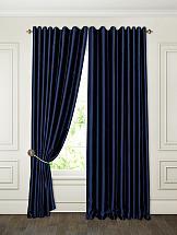Комплект штор ТомДом Аклина (темно-синий) цена