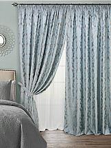 Комплект штор ТомДом Фиризи (голубой) комплект штор zlata korunka 2 шторы 160 х 270 см тюль 330 х 270 см 777317