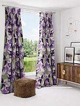 Комплект штор ТомДом Гретель (фиолетовый)