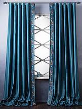 Комплект штор ТомДом Натсо (бирюзовый) комплект из 2 х ложек и 2 х вилок babybjorn оранжевый бирюзовый