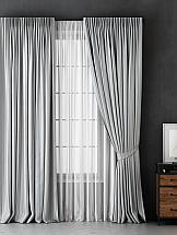 Комплект штор ТомДом Грейзи (светло-серый) комплект для девочки cherubino цвет светло розовый серый 5 предметов can 9407 размер 74
