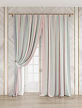 Комплект штор ТомДом Кипрус (мятно-розовый) комплект штор томдом карас мятно коричневый