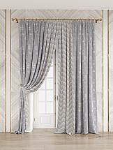 Комплект штор ТомДом Грейсон (серый)