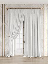 Комплект штор ТомДом Белир (белый) комплект штор томдом легия к белый