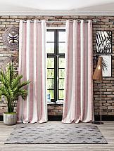 Комплект штор ТомДом Лайнелия (розовый)