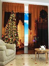 все цены на Комплект фотоштор ТомДом Рождественская сказка онлайн