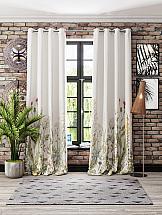 Комплект штор ТомДом Флоренси (белый) комплект штор томдом легия к белый